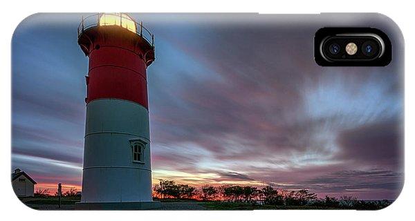 Nauset Lighthouse IPhone Case