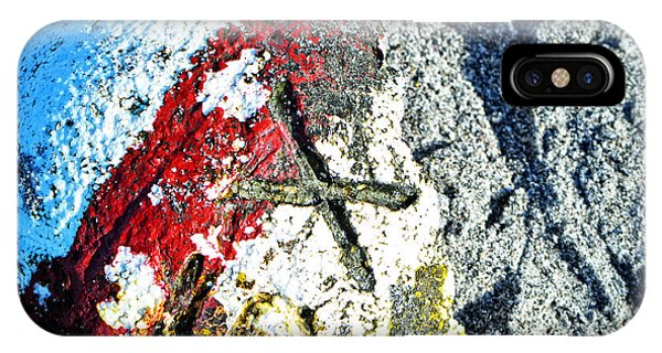 Navigation iPhone Case - Nautical Art - X Marks The Spot - Sharon Cummings by Sharon Cummings