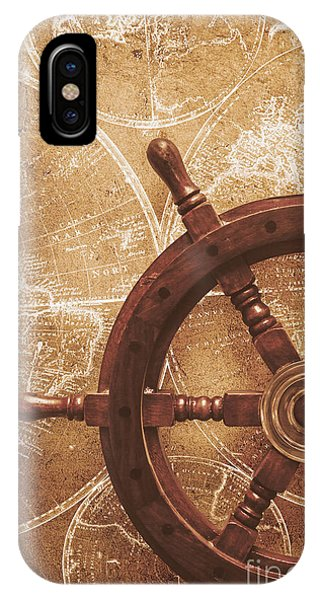 Schooner iPhone Case - Nautical Exploration  by Jorgo Photography - Wall Art Gallery
