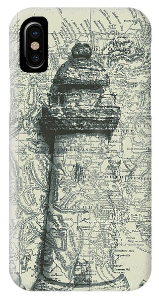 Lighthouse Wall Decor iPhone Case - Nautical Way by Jorgo Photography - Wall Art Gallery