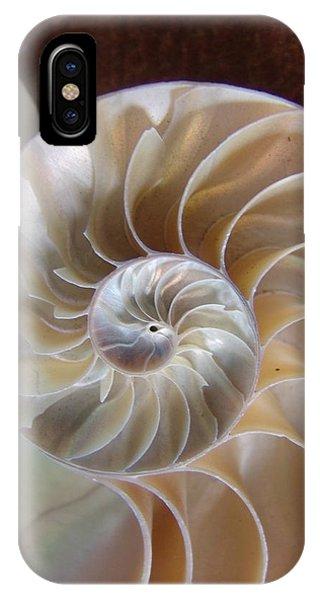Nautilus Shell IPhone Case