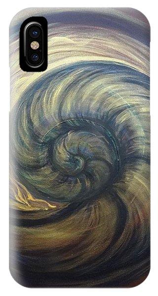 Nautilus Spiral IPhone Case