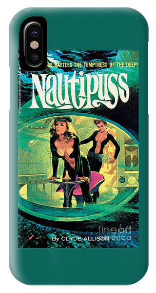 Nautipuss IPhone Case