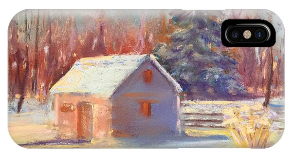 Nauvoo Winter Scene IPhone Case