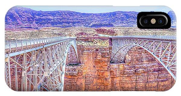 Navajo Bridge IPhone Case