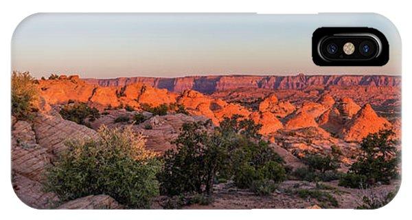 Navajo Land Morning Splendor IPhone Case