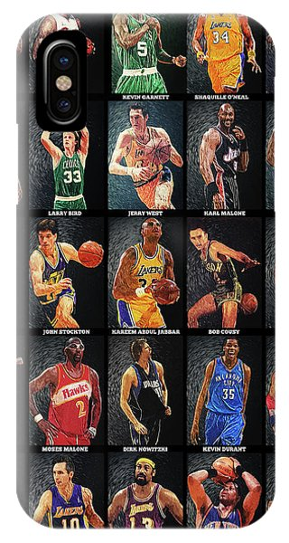 Nba Legends IPhone Case