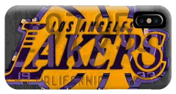 Sports iPhone Case - Nba Series Coming Along!  #lakers by Design Turnpike