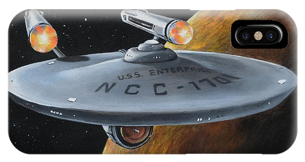 Ncc-1701 IPhone Case