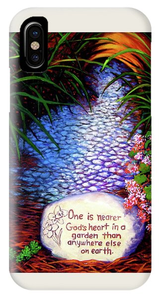 Garden Wisdom, Nearer IPhone Case