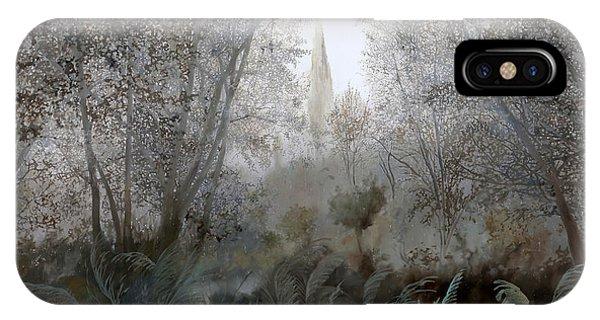 Jungle iPhone Case - Nebbia Nel Bosco by Guido Borelli