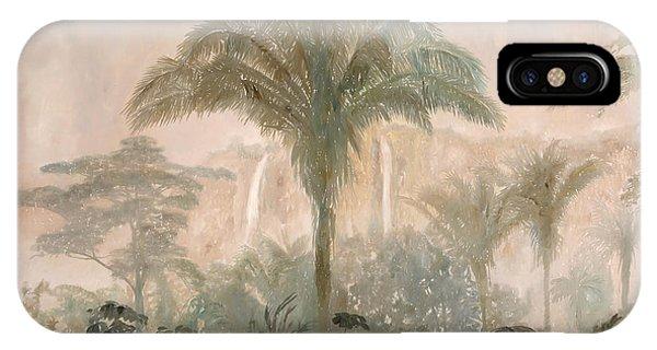 Jungle iPhone Case - Nebbia Nella Jungla by Guido Borelli