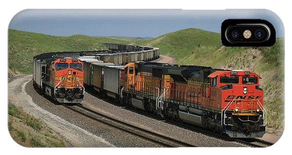 Nebraska Coal Trains IPhone Case