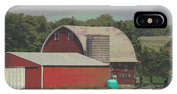 Nebraska Farm Life - The Family Farm IPhone Case