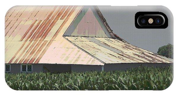 Nebraska Farm Life - The Tin Roof IPhone Case