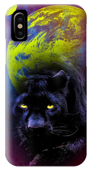 Nebula's Panther IPhone Case