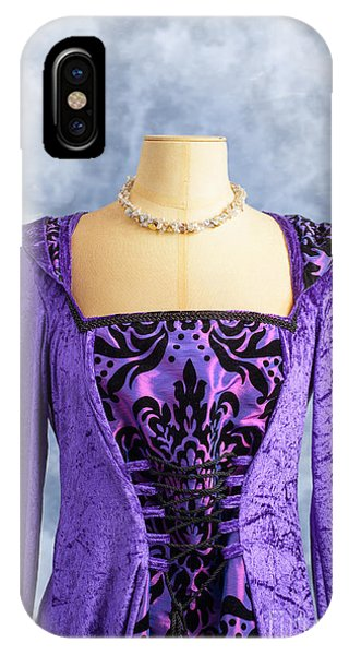 Mottled iPhone Case - Necklace And Dress by Amanda Elwell