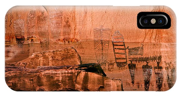 Needles Pictographs IPhone Case