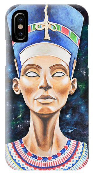 Egyptian iPhone X Case - Nefertiti by Canvas Cultures