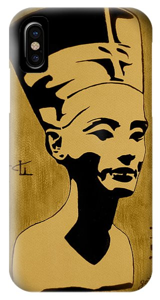 Nefertiti Egyptian Queen IPhone Case