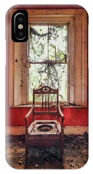 Toilet iPhone Case - Neglect by Evelina Kremsdorf