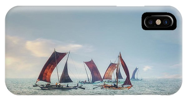 Catamaran iPhone Case - Negombo - Sri Lanka by Joana Kruse