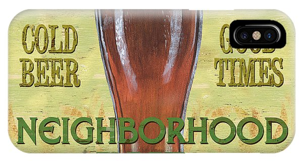 Cold iPhone Case - Neighborhood Pub by Debbie DeWitt