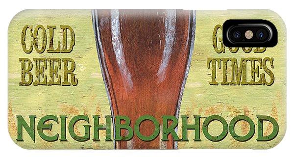 Neighborhood Pub IPhone Case