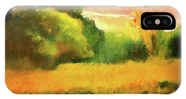 Port Townsend iPhone Case - Neighbor's Field by James Murphy