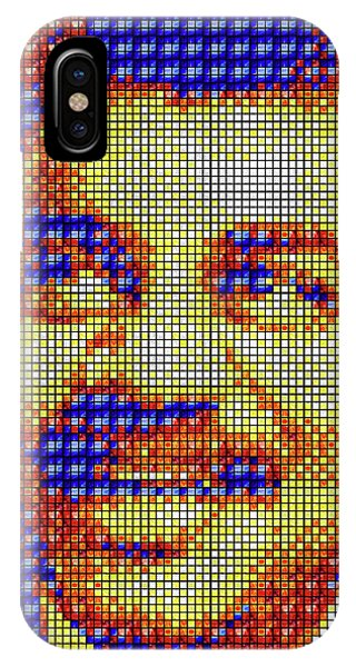 IPhone Case featuring the digital art Neil Degrasse Tyson Art Mosaic by Shawn Dall