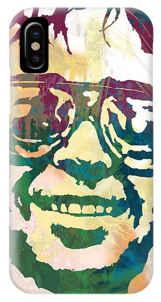 1 iPhone Case - Neil Young Pop Stylised Art Poster by Kim Wang