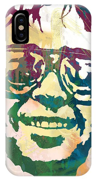 Neil Young Pop Stylised Art Poster IPhone Case