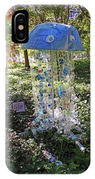Nelly The Jelly Scarecrow At Cheekwood Botanical Gardens IPhone Case