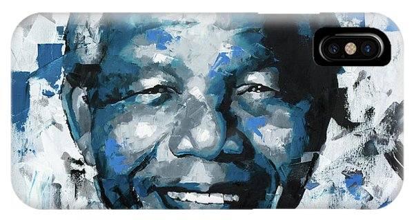 Different iPhone Case - Nelson Mandela II by Richard Day