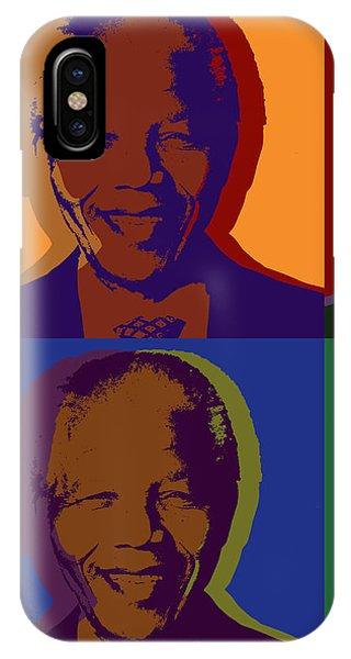 Nelson Mandela Pop Art IPhone Case