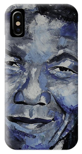 Different iPhone Case - Nelson Mandela IIi by Richard Day