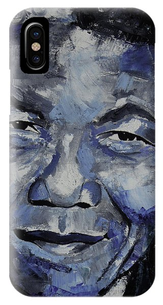 Nelson Mandela IIi IPhone Case