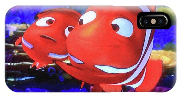 Nemo And Dad IPhone Case