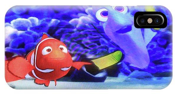 Nemo And Dory IPhone Case