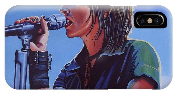 Punk Rock iPhone Case - Nena Painting by Paul Meijering
