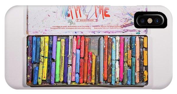 Color Pencil iPhone Case - Neocolor II by Scott Norris