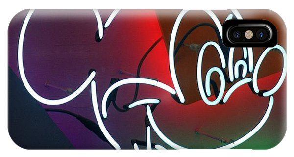 iPhone Case - Neon Mickey by Rob Hans