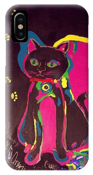 Neon Onyx IPhone Case