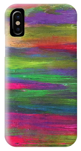 Neon Rainbow IPhone Case