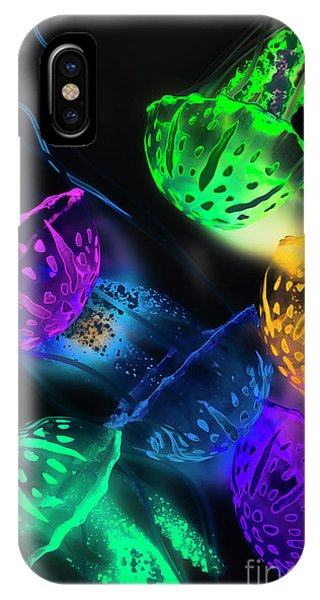 Neon iPhone Case - Neon Sea Life by Jorgo Photography - Wall Art Gallery