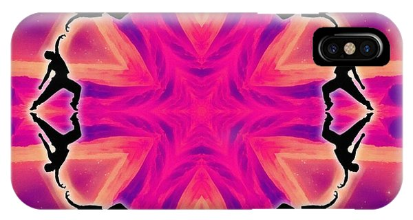 Neon Slipstream IPhone Case
