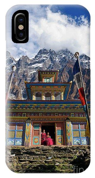 Nepal_d1062 IPhone Case