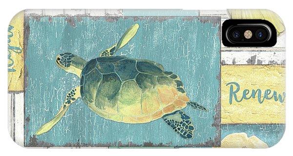 Seahorse iPhone Case - Neptune 1 by Debbie DeWitt