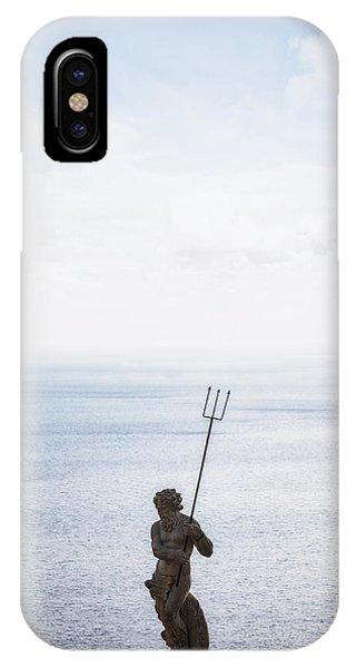 Greece iPhone X Case - Neptune by Joana Kruse