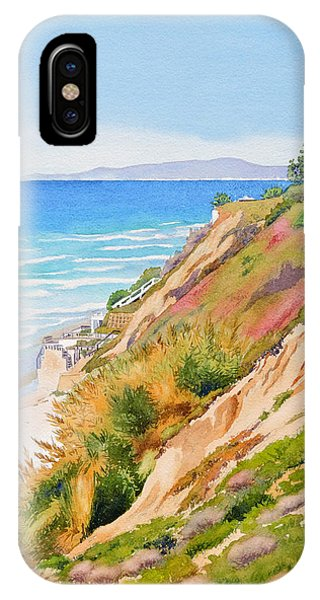 Neptune's View Leucadia California IPhone Case